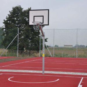 Kiinteä maahan asennettava koripalloteline Coma-Sport