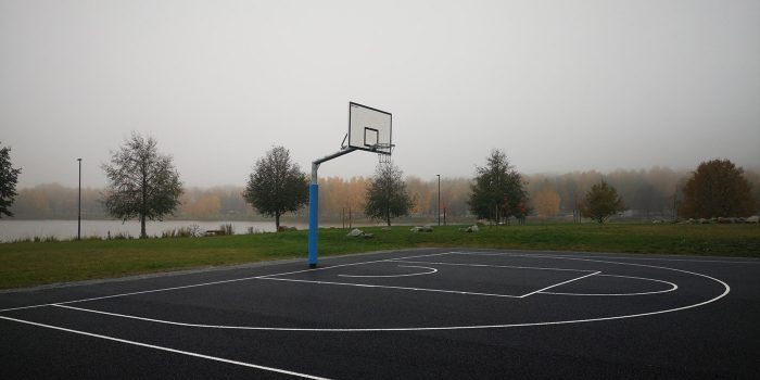 Coma-Sport koripalloteline ulos 1,65 ulostulolla
