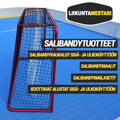 Liikuntamestari.fi toimittaa tuotteet salibandyyn