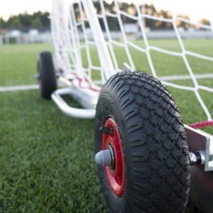 Jalkapallomaalin siirtorenkaat Alusport Easy Lift