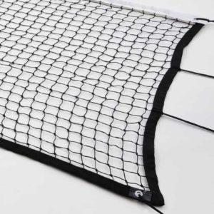Musta Tennisverkko - ComaSportin valmistama verkko ulkokäyttöön