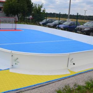 Salibandykaukalo Floorbee liikettä kouluun 10x6m