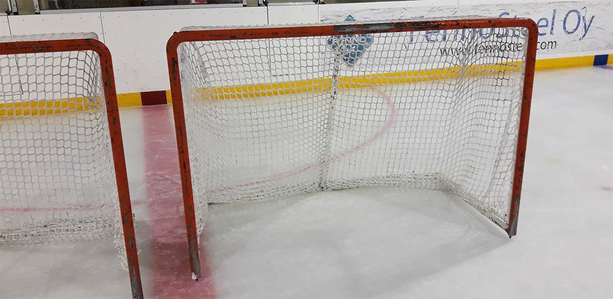 Jääkiekkomaalin verkot