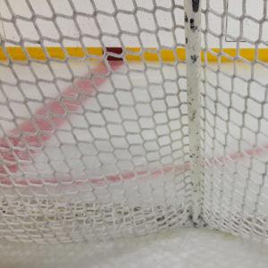 Verkko jääkiekkomaaliin - kestävä solmuton verkko
