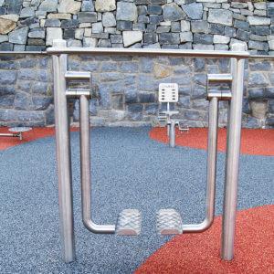 Kävelylaite ulkokuntosalille Colmex CE-sarjan ulkokuntosalilaite