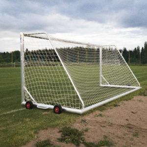 Jalkapallomaali 5x2m Alusport Pro D-profiili