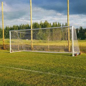 Aikuisten jalkapallomaali - Alusport Pro 7,32x2,44m d-profiilin virallisen kokoinen aikuisten maali