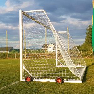 Kestävä aikuisten jalkapallomaali Alusport Pro D-profiililla