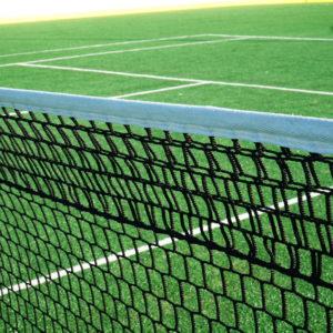 Laadukas tennisverkko Pro 4mm ulko ja sisä tenniskentille