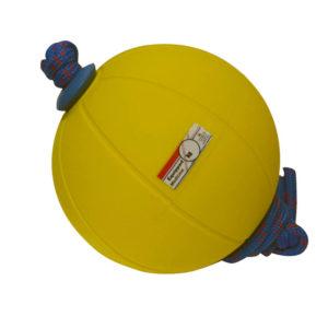 Kuntopallo köysiotteella (paino 1 kg)