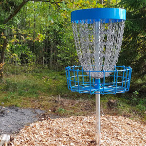 Frisbeegolf korit