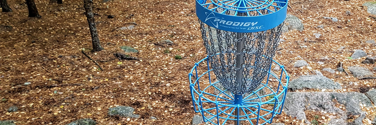 Frisbeegolfkorin valinta