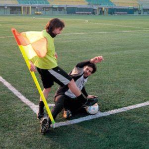 Jalkapallokentän kulmalippu