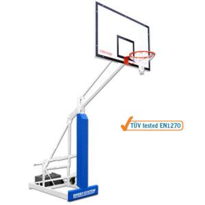 Siirrettävä koripalloteline Sport System Easy Play College korkeudensäädöllä Url preview: