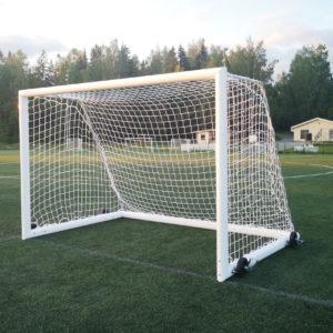 Helposti siirrettävä 3x2 jalkapallomaali MTB