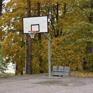 Siirreltävä koripalloteline Spor System