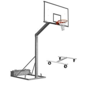 Jämerä siirreltävä koripalloteline