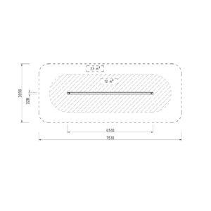 Colmex W02703 slackline tasapainoilu teline mitat ja koko