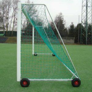 Helposti liikuteltava juniorikoon 5x2m jalkapallomaali (EN748 hyväksytty- kaatumaton maali 150kg vastapainolla)