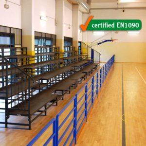 Urheilukatsomo penkillä sisäkäyttöön Sport System