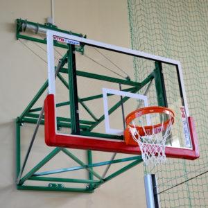 Seinälle nostettava / Seinään kiinnitettävä koripalloteline MTB