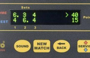 Tennis tulostaulu - ohjausyksikkö