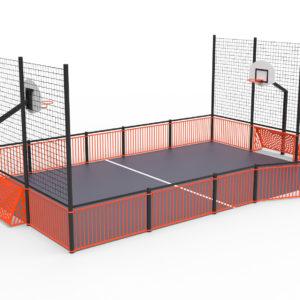 Monipeliareena Sport 12x6,7m koulun pihalle